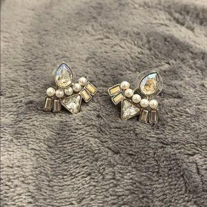 Swarovski Jewelry - Auth. Swarovski Festivity earring jackets
